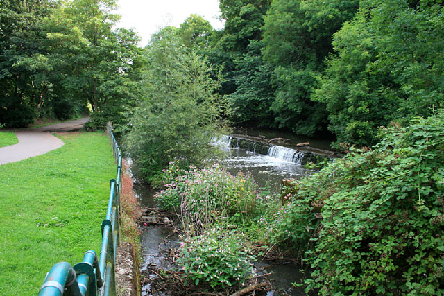 Weir on the River Frome