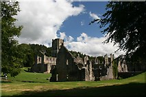 SE2768 : Fountains Abbey by Graham Hogg