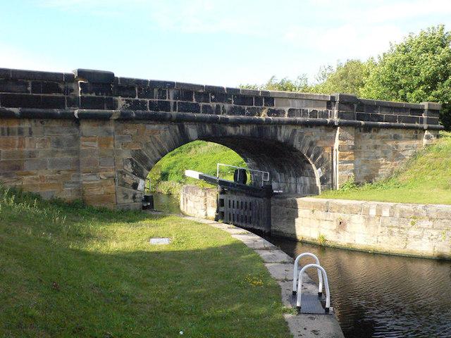 Bridge over Broadreach lock gate
