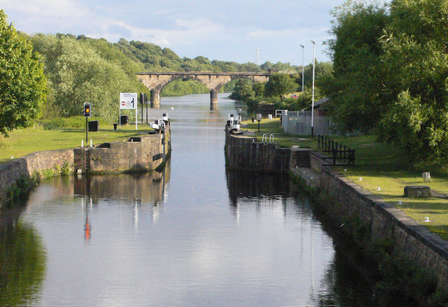 Broadreach Lock from above
