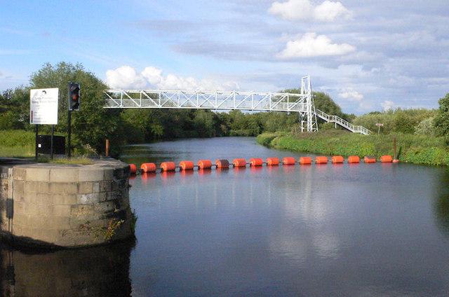 Broadreach footbridge