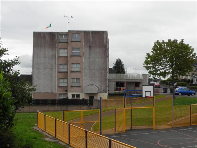 Apartment block, Strule Park, Omagh by Kenneth  Allen