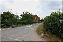 SK1024 : Cross Roads near Netherwood Farm by Mick Malpass