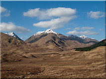 NM9891 : Moorland west of head of Loch Arkaig by Trevor Littlewood