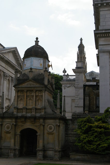 Gonville and Caius College, Cambridge: rear gate