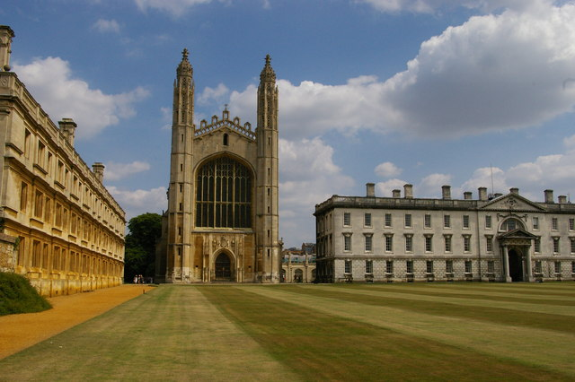 King's College, Cambridge: Back Court