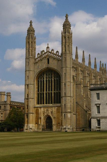 King's College, Cambridge: chapel © Christopher Hilton