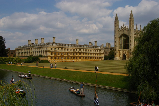 Cambridge: King's College and the Backs