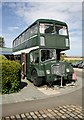 NT9350 : The Chain Bridge Bus Café by Walter Baxter