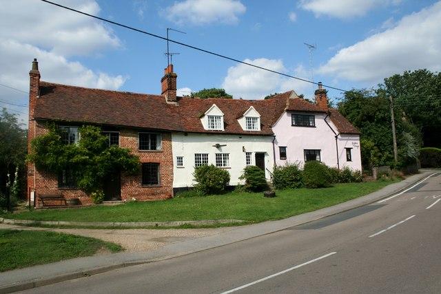 Houses in Nunnery Street, Castle Hedingham, Essex