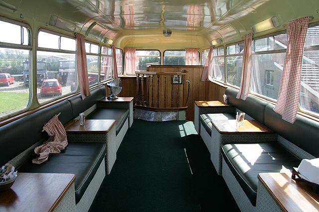 Inside The Chain Bridge Bus Caf 233 169 Walter Baxter Cc By Sa