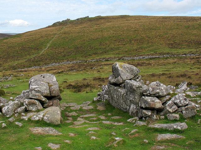Entrance to Grimspound