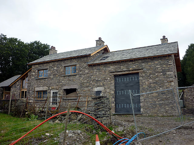 House and barn renovation above Well Knowe