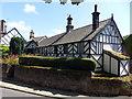 SJ2285 : Corner Cottage, Caldy by J Scott