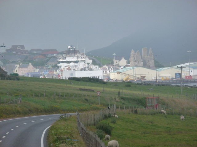 Scalloway: view from Trondra