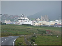 HU4039 : Scalloway: view from Trondra by Chris Downer
