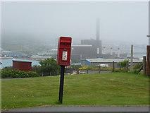 HU4642 : Lerwick: postbox № ZE1 86, Norstane by Chris Downer
