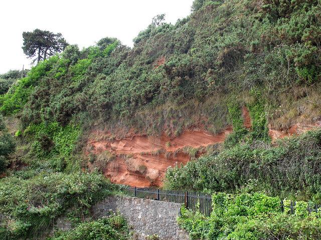 Geology above Coryton Tunnel