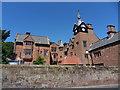SJ2285 : Caldy Manor by J Scott