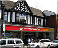 SJ5441 : Former Woolworths store in High St. Whitchurch by Gordon Cragg