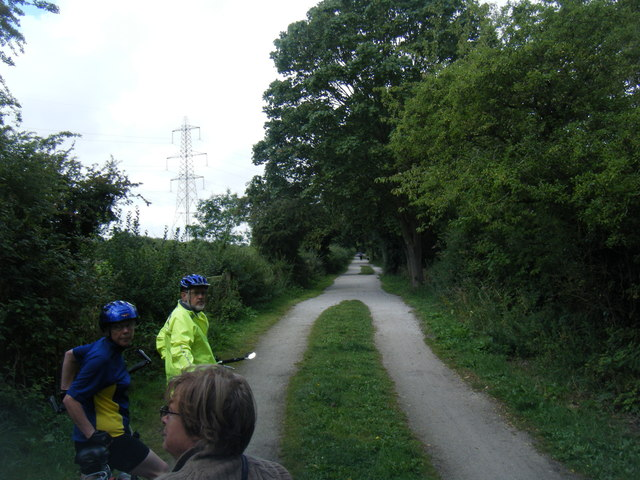 Wirral Way cycleway and footpath