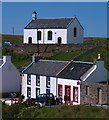 NR1652 : Post Office and church, Portnahaven by Gordon Hatton