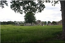 NJ0661 : Kinloss Abbey by Andrew Wood