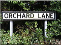 TM2348 : Orchard Lane sign by Adrian Cable