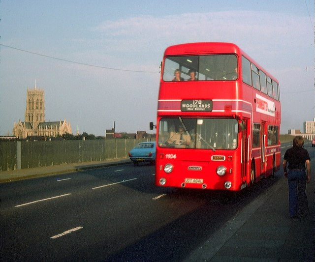 8 Seater Vehicles >> A Doncaster bus on North Bridge Road © David Hillas cc-by ...