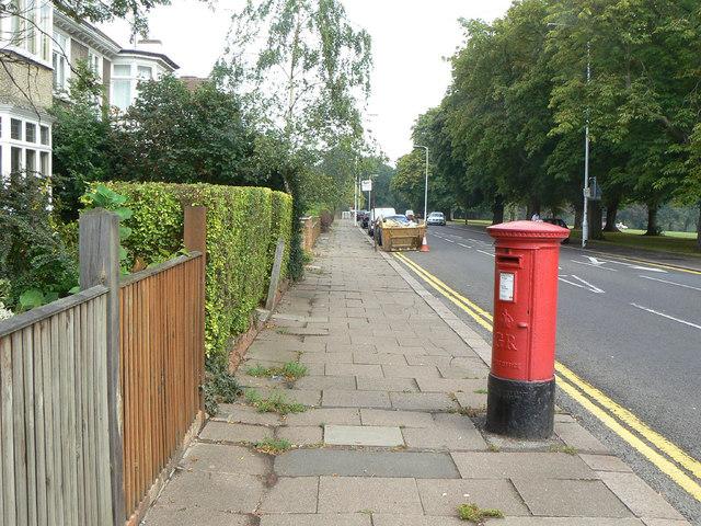 Park Ave South postbox (ref. NN3 113)