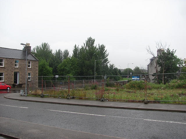 Hole in the road, Laurencekirk