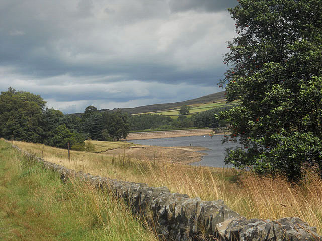 Across Errwood Reservoir