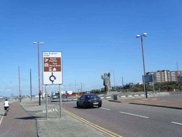 Kings Parade roundabout