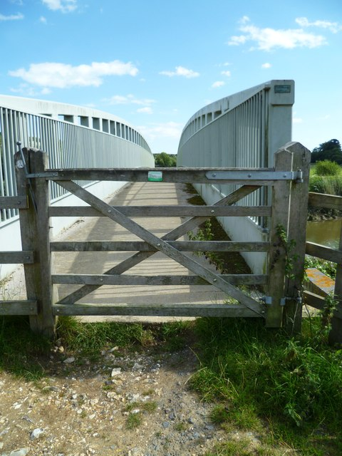 Bridle bridge over the River Arun