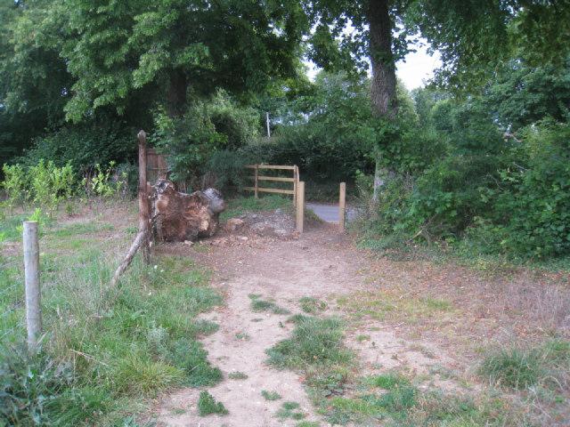Path access to lane