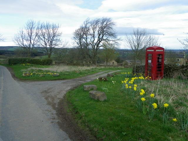 Telephone box, Ilton