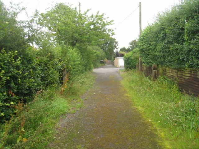 Track off Barn Lane