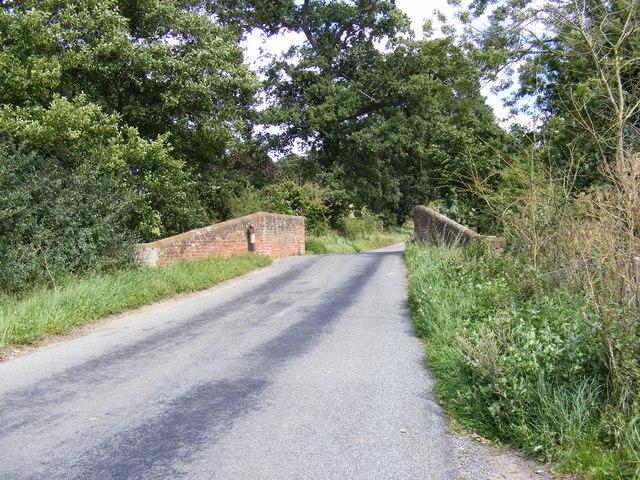 Bridge over the Stream in Boot Street