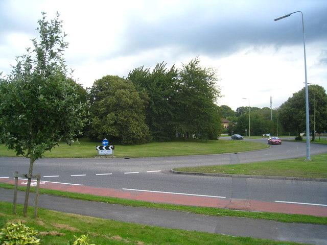 West Ham roundabout - B3400