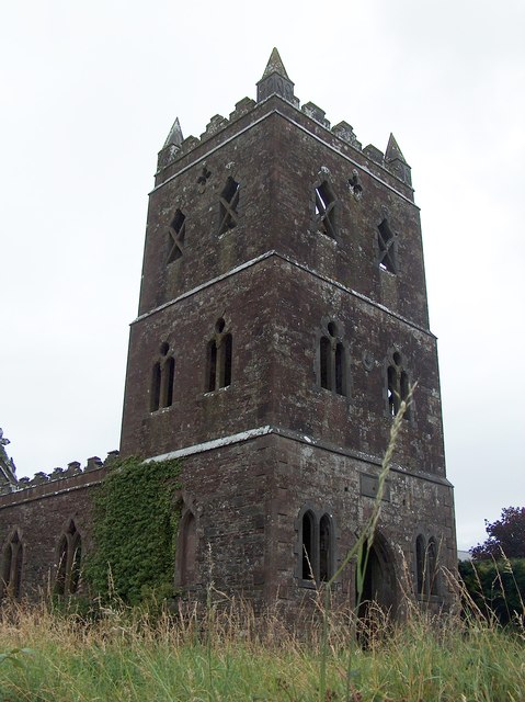 Derelict church on Cork Road, Ballylanders