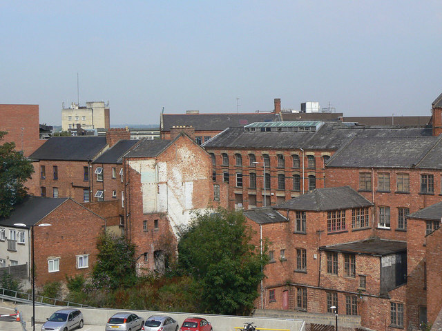 View from St Michael's Car Park