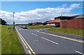 NS3618 : Rear of Ayr Hospital by wfmillar