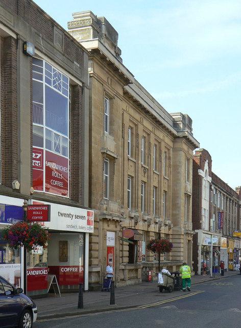 Main Post Office, St Giles's Street