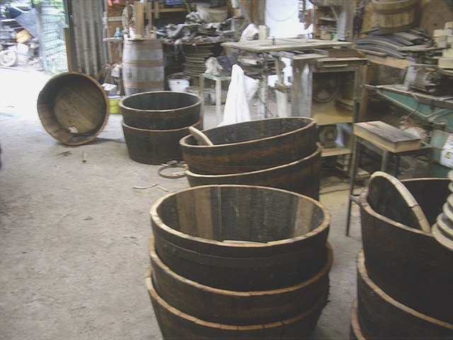 Recycling old whisky barrels at Nether Ardwell