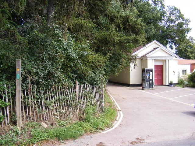 Footpath to The Street, Martlesham