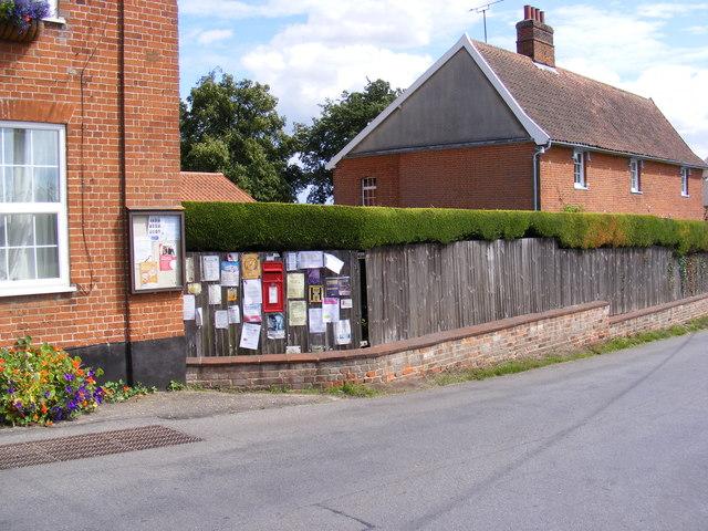 Bealings Street Postbox