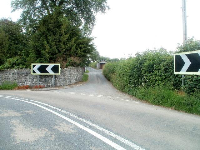 NE end of Llanfair Hill, Llandovery