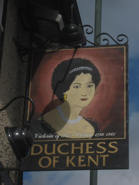 Duchess of Kent Pub Sign (2)