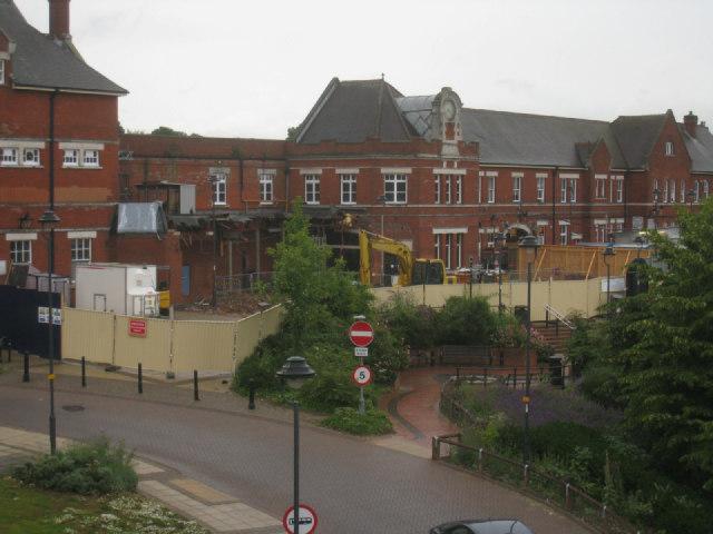 Station makeover - Basingstoke