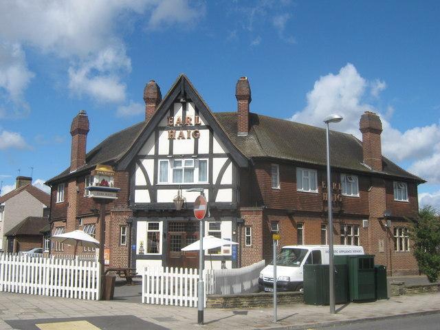 Earl Haig Public House, Little Heath